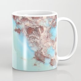 Rugged Turquoise Nugget Coffee Mug