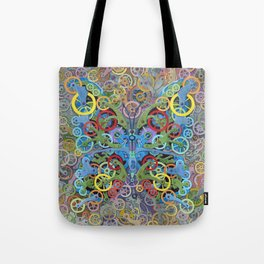 Clockwork Butterfly No. 11 Tote Bag