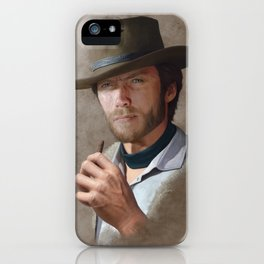 Man with no name ( Clint Eastwood ) iPhone Case