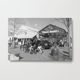 Granville Island Public Market 1 Metal Print
