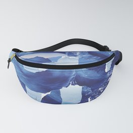 Nautical abstract pattern Fanny Pack