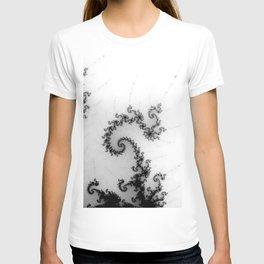 detail on mandelbrot set - pseudopod T-shirt