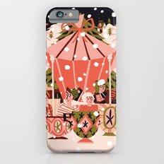 Christmas Coffee Carousel Slim Case iPhone 6s