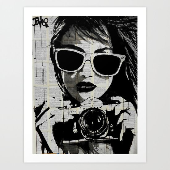 shoot Art Print