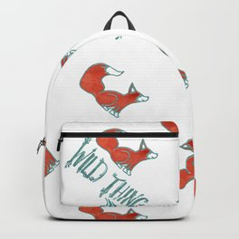 Be Brave & Be Kind My Wild Thing Backpack