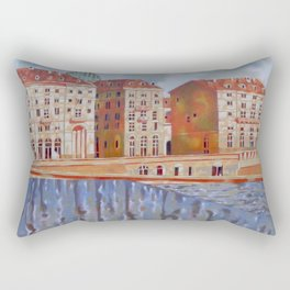 Memory of Turin Rectangular Pillow