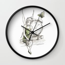 A Fairy is Waiting Wall Clock