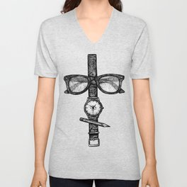 Simple objects Unisex V-Neck