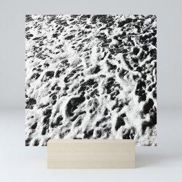 Sea Foam Static II Mini Art Print
