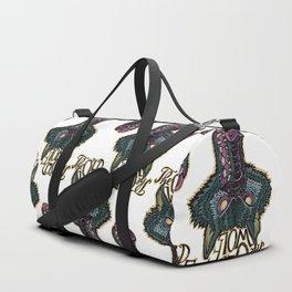 Head Old Wolf Duffle Bag