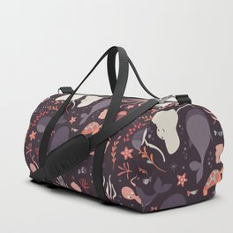 Sea creatures 002 Duffle Bag