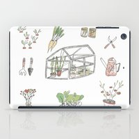 calendar iPad Cases featuring Calendar Garden`15 by Inga Provorova