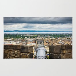 View from Edinburgh Castle, Scotland Rug
