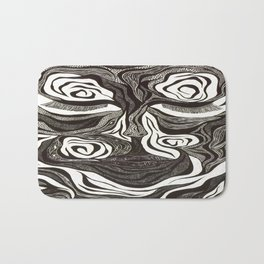 Peace Within The Battle Bath Mat
