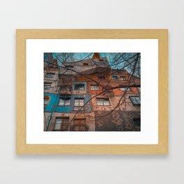Hundertwasser 2 Framed Art Print