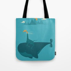 Nature's Submarine Tote Bag