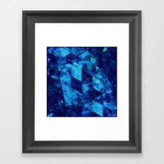 Abstract Geometric Background #23 Framed Art Print