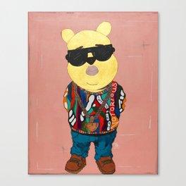Biggie The Pooh/ Notorious P.O.O.H Canvas Print