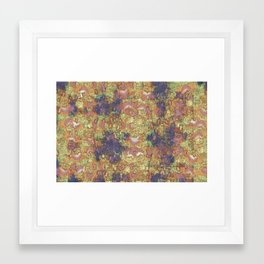 Mineral Map - Abstract Art Framed Art Print