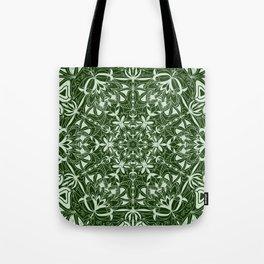 Green Mandala Tote Bag