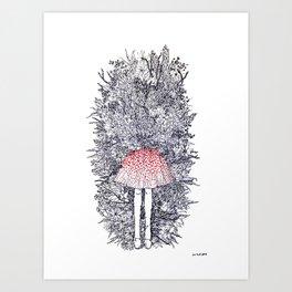 Anthophobia Art Print