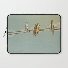 Vintage Clothespin Laptop Sleeve