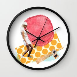 Fashion Drifter Wall Clock