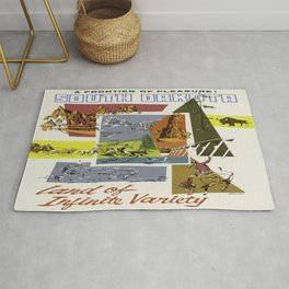 Vintage poster - South Dakota Rug