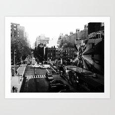 25th St. Art Print