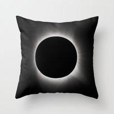 Totality Throw Pillow