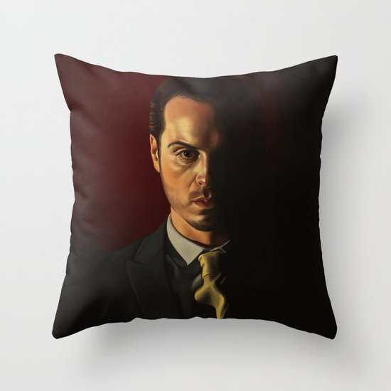 IOU - Sherlock Throw Pillow