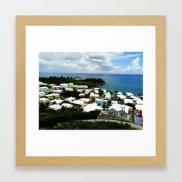 A House of a Different Color Framed Art Print