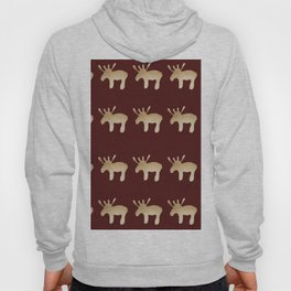 Reindeer queues #decor #buyart Hoody