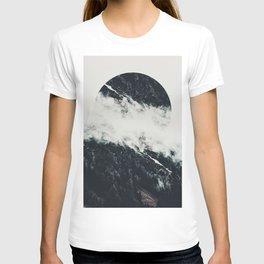 Black meets white T-shirt