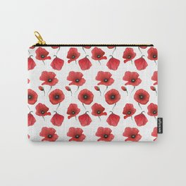Poppies pattern Carry-All Pouch