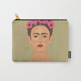 Frida nude Carry-All Pouch