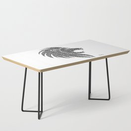 Ferocious Lion Coffee Table