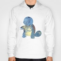 squirtle Hoodies featuring Squirtle by S3NTRYdesigns