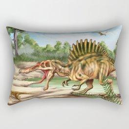 Dinosaur Species Rectangular Pillow