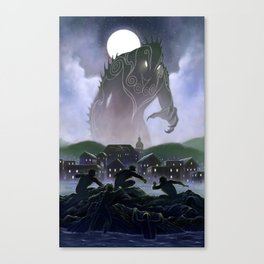 Devil's Reef Canvas Print