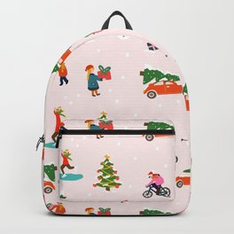 Christmas Winter time Backpack