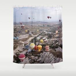 Air Ballons, Cappadocia, Turkey. Shower Curtain
