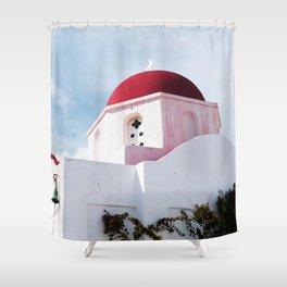MYKONOS 01 Shower Curtain