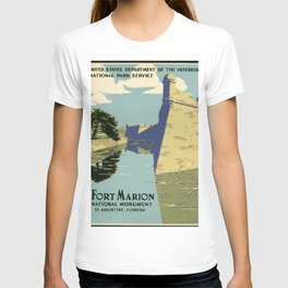 Fort Marion National Monument, St. Augustine, Florida T-shirt