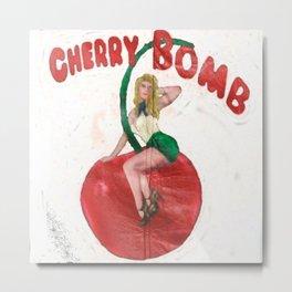 Cherry Bomb Metal Print