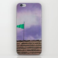 flag iPhone & iPod Skins featuring Flag by Maite Pons