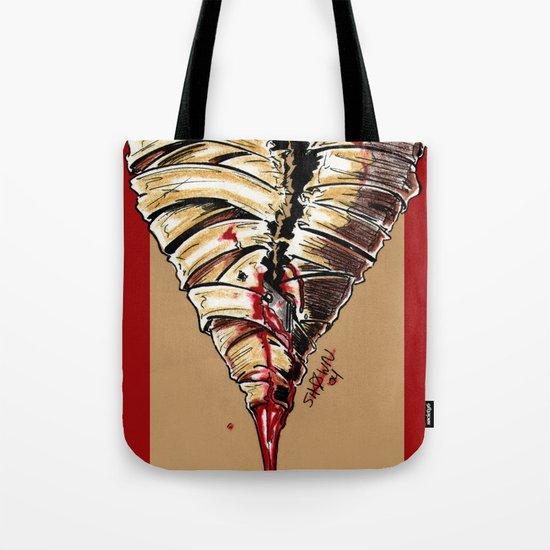 Razor Blade Romance Tote Bag