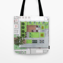 Landscape design Tote Bag
