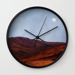 Moon Over Rannoch Wall Clock