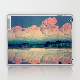 Admiring the Clouds in Kono Laptop & iPad Skin